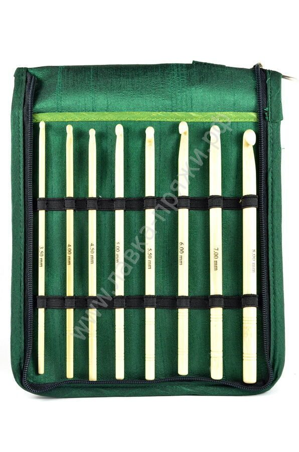 22549 Knit Pro Bamboo Crochet Hook Set